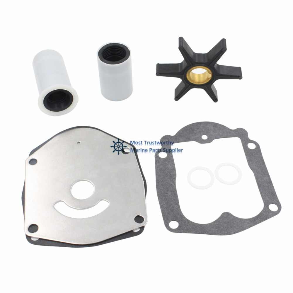 small resolution of mercury 30 40 45 50 hp 2 stroke outboard water pump impeller kit 821354a2