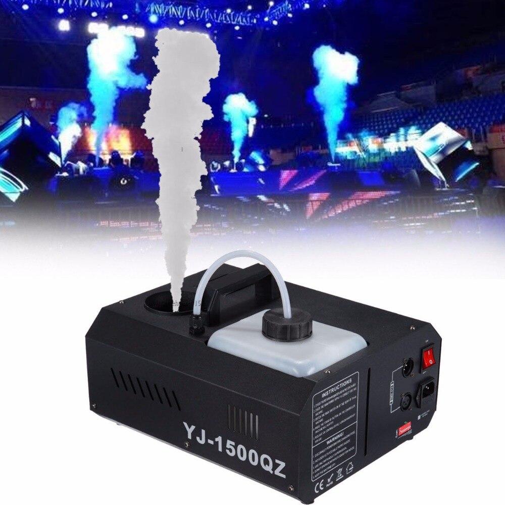 (Ship from US) 1500w Smoke Sprayer Fogger Machine Up spray Wireless DMX Control+Remoter