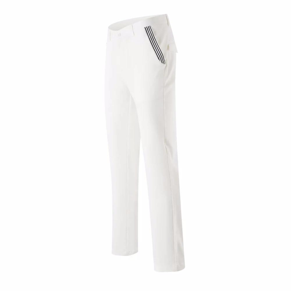 ФОТО golf pants 2017 men spring long trousers dry quick slim sports pants 5 colors men summer golf trousers men brand pants white