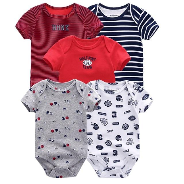 Kiddiezoom детские комбинезоны пижамы для маленьких девочек Дети Bebe Infantil одежда для новорожденных одежда из хлопка Одежда для маленьких мальчиков, Товары для детей - Цвет: baby romper 5069