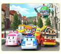 4PCS/SET Baby Toys  Anime transformation robot Toys Thomas Toys Best Gift For Kids Car Toys