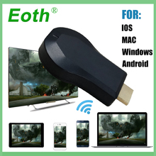 цена на TV Stick Dongle AnyCast Airplay 1080P Wireless WiFi DLNA mirascreen for google  chromecast hdmi streamers for Android Miracast