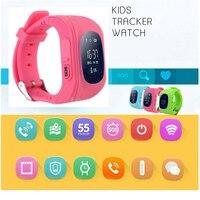 Q50 Astuto di GPS Della Vigilanza Capretto Sicuro Da Polso SOS Chiamata Location Finder Locator Tracker Per Bambini Anti Perso Monitor Smart Baby watch Q5