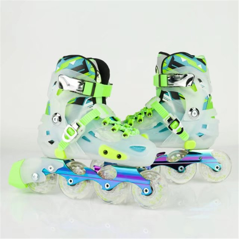 ed2e04a27f7 Premium Kids  Sneaker Inline Skates Shoes for age 8 to 15 Years Old Skating  Shoes Outdoor Sports Shoe Size S M Europea 29 to 36-in Skate Shoes from  Sports ...