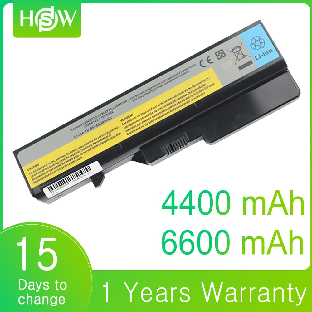 4400mAh 6600mAh For Lenovo G460 G465 G470 G475 G560 G565 G570 G575 G770 Z460 V360A E47G Z370 L10M6F21 L09S6Y02 Laptop Battery-in Laptop Batteries from Computer & Office