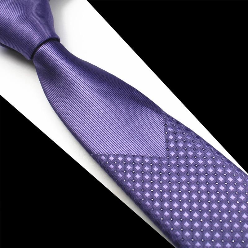 GUSLESON Nuevo Flaco Hombre Corbatas Hombre de lujo Floral Punto - Accesorios para la ropa - foto 6