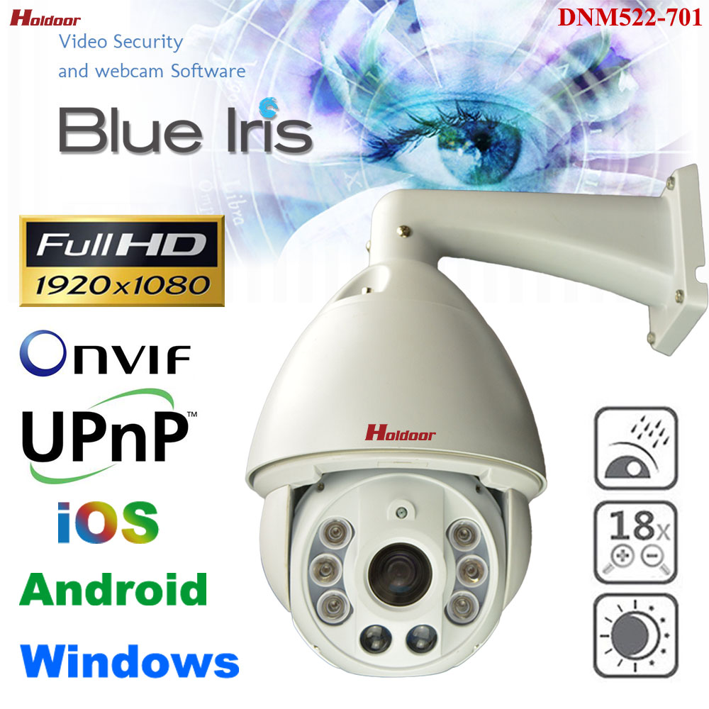 CCTV 1080P IP Security PTZ Camera Auto Focus High Speed Pan Tilt Zoom IR Night Vision 150M Outdoor Waterproof Onvif DNM522-701 4 in 1 ir high speed dome camera ahd tvi cvi cvbs 1080p output ir night vision 150m ptz dome camera with wiper