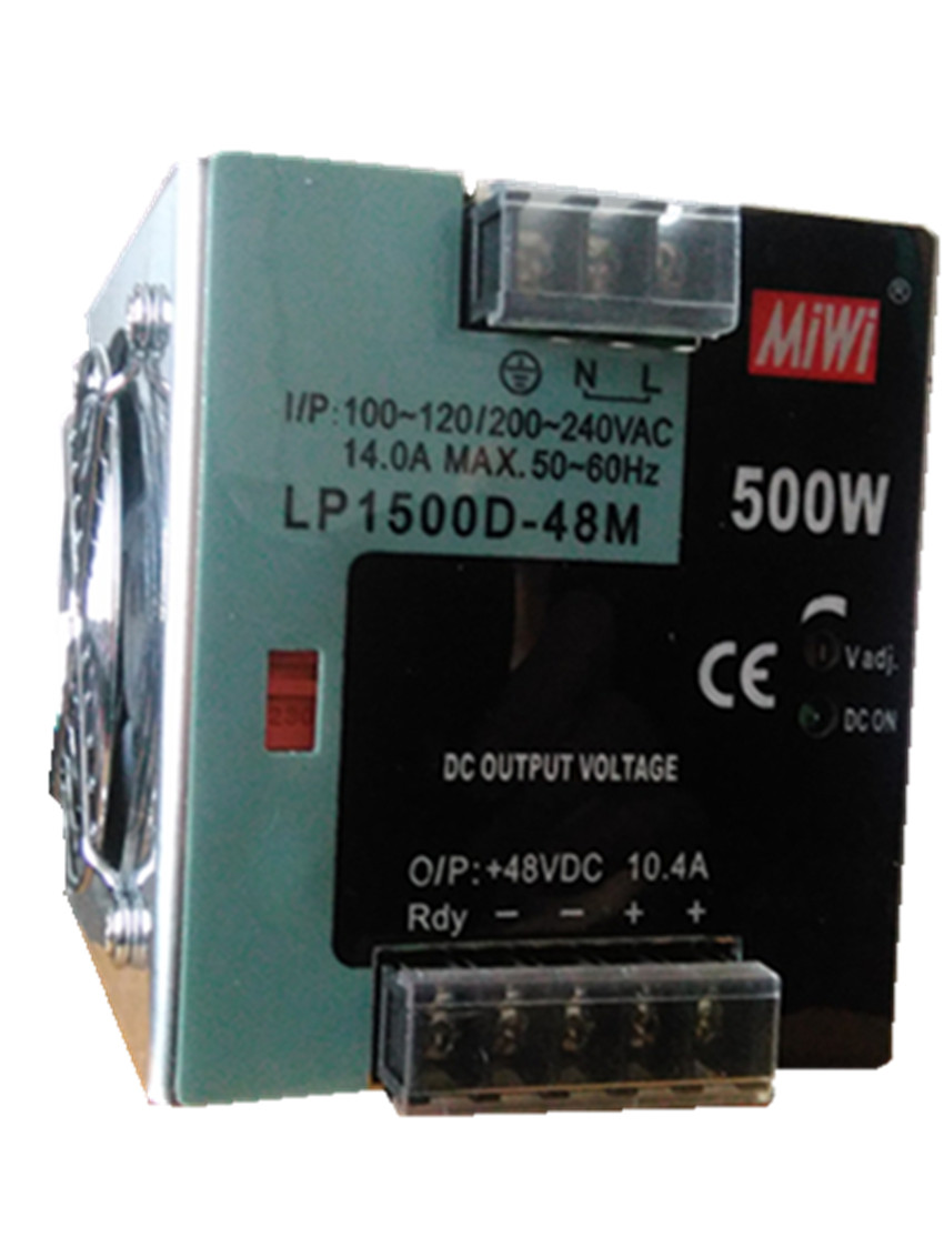 500W 48V 10.4A din rail switching power supply switching power supply smps MDR-500-48 48v 500w din rail switch power without the function of measuring lp 500 48