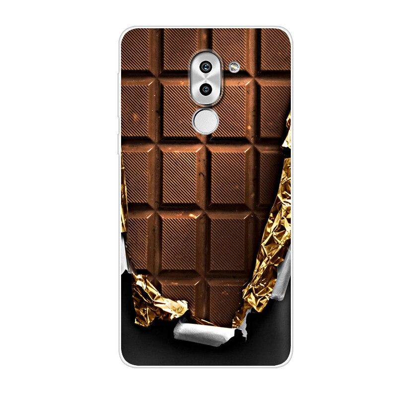 For Huawei Honor 6X Case Honor 6 X Silicone փափուկ հետևի - Բջջային հեռախոսի պարագաներ և պահեստամասեր - Լուսանկար 2