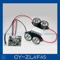 Punto de luz infrarroja 4x junta led ir cctv cámaras de visión nocturna. cy-zl4f45