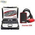 V3.8 VDM UCANDAS WIFI ferramenta Completa Do Sistema de Diagnóstico Auto Ferramenta de Ajuste para Os EUA Veículos Com Usado Panasonic Toughbook CF-19 DHL Grátis