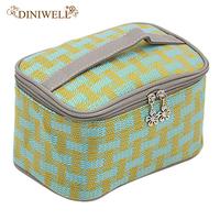 DINIWELL Women Beauty   Tool   Travel   Storage   Package Zipper Closure Cosmetic Makeup Holder Bag Organizer Handbag