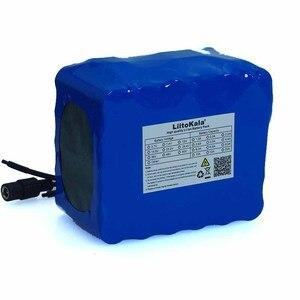 Image 4 - LiitoKala 24V 10Ah 6S5P 18650 Pin Pin Li ion 25.2V 10000MAh Xe Đạp Điện Moped/Điện Bộ Pin + 2A Sạc