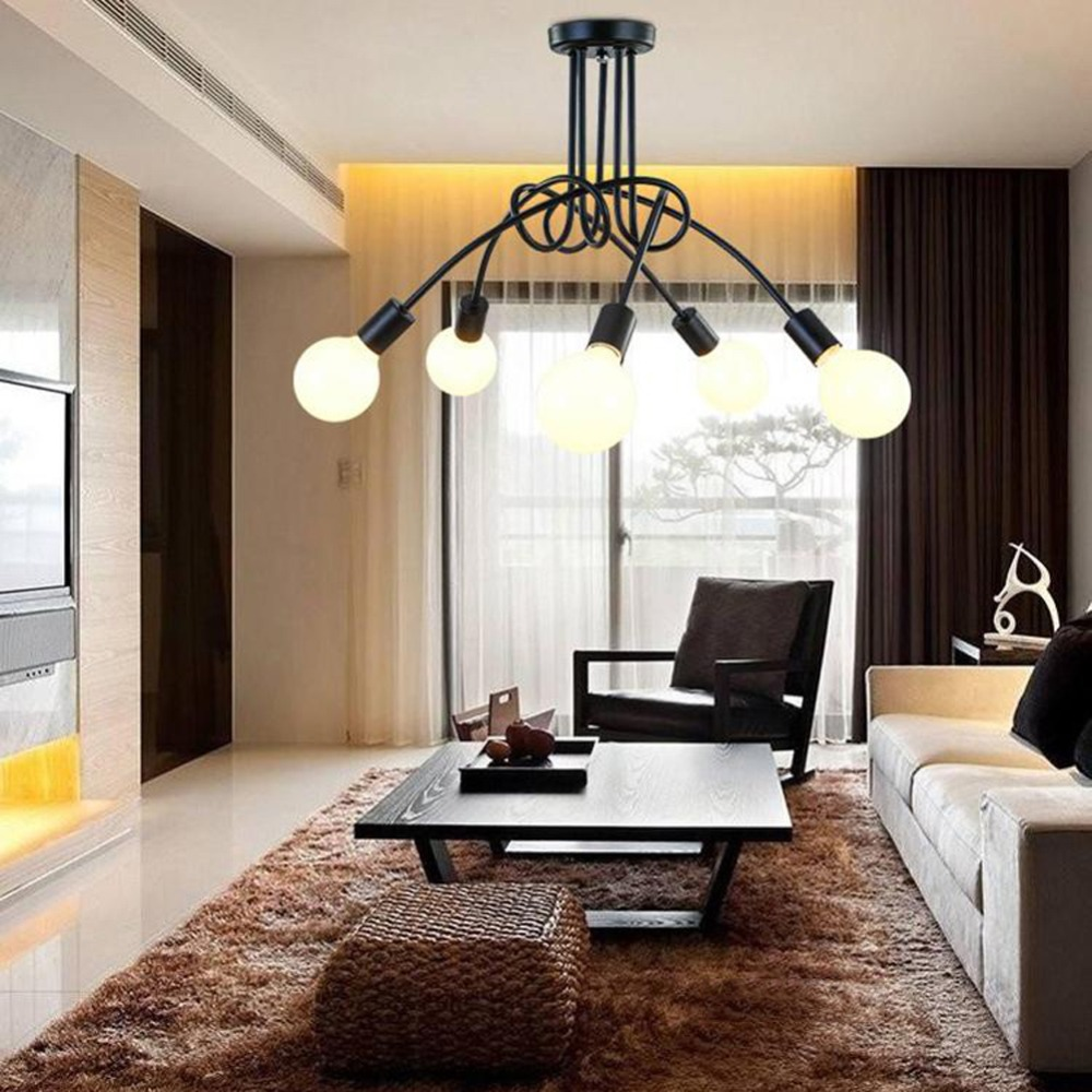 Vintage Ceiling Lights Ceiling Lighting Black Creative ...