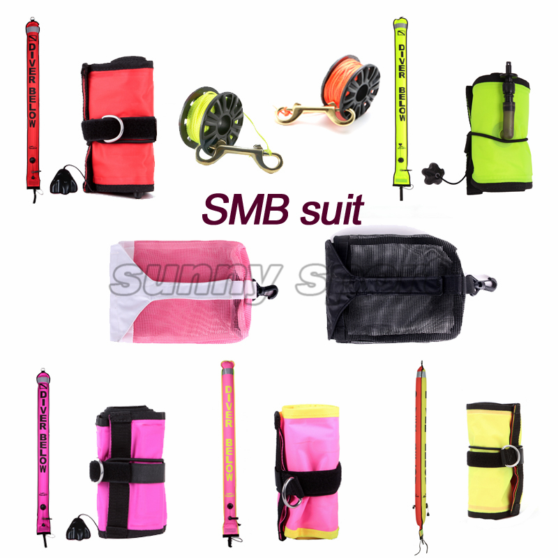 reelwraps combination bundle equipment bag net bag portable set SMB diving scuba diving bag jellyfish Diving