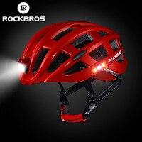 ROCKBROS Light Sports Helmet Ultralight Bike Helmet Intergrally Molded Mount Climbing Cycling Bicycle Helmet Safety Men