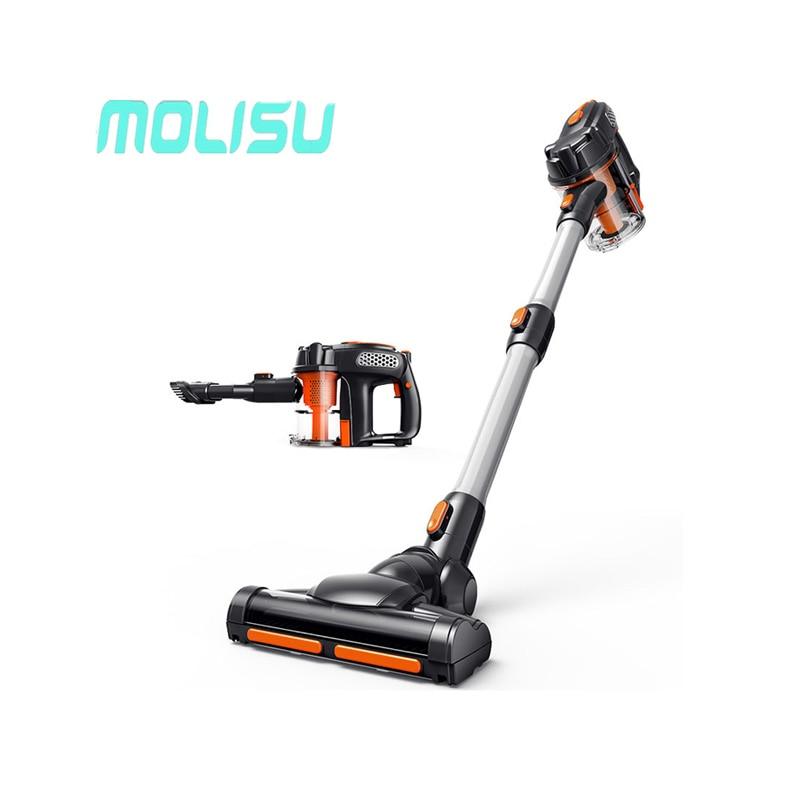 MOLISU Portable House Hand Held Vacuum Cleaner Quiet Dust Collector Home Rod Handheld Manual Vacuum Cleaners
