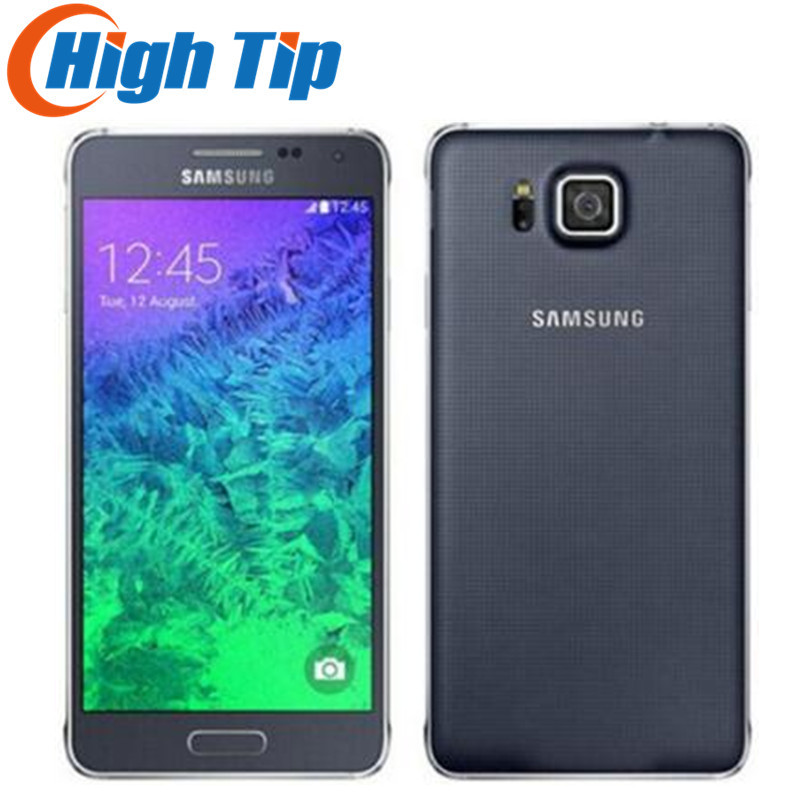 refurbished Original Unlocked Samsung Galaxy Alpha G850A G850 G850F Ouad Core 16GB ROM 12.0MP 4.7 Inch TouchScreen Mobile Phone