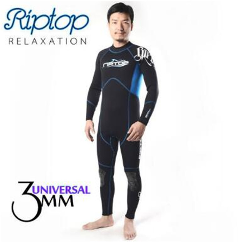 SLINX RIPTOP 1136 3mm Neoprene Men Scuba Diving Suit Kite Surfing Boating Snorkeling Spear Fishing Windsurfing Wetsuit Swimwear slinx men women 1109 5mm neoprene fleece lining warm jacket wetsuit kite surfing windsurfing swimwear boating scuba diving suit