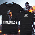 2017 new field 4 game cotton t-shirts Battlefield 3   for men and women t-shirts showgirls hoodie anime