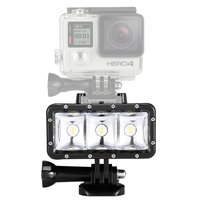 Waterproof High Power Dimmable LED Video POV Flash Fill Light Night Light For GoPro Hero 4