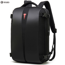 2019 new travel Backpack Multifunction 15.6inch USB Laptop Backpack Nylon Waterproof Bag Fashion Business Backpack Password Bag
