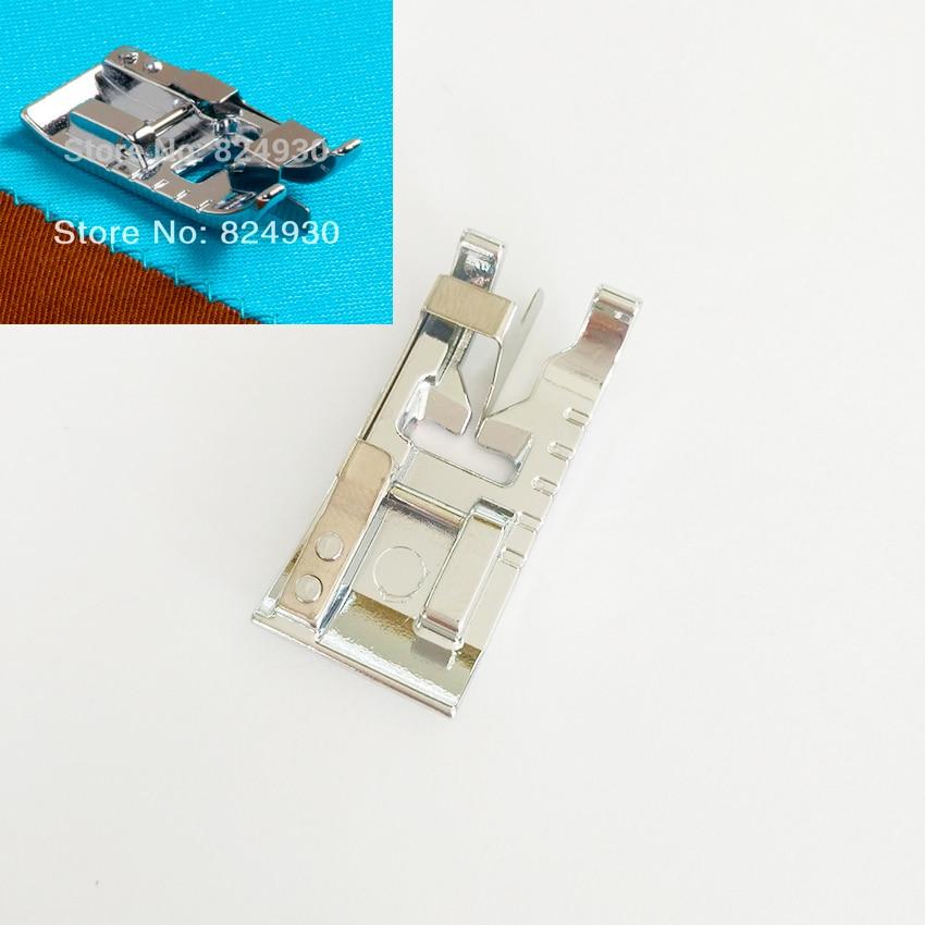 घरेलू सिलाई मशीन एज जॉइनिंग फुट प्रेसर फुट 9902 घरेलू सिलाई मशीन के लगभग सभी फिट हैं