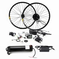 Electric Bike 36V 350W Kit for 26 27.5 29 inch Wheel Motor Kettle Battery LED LCD Ebike e bike Electric Bike Conversion Kit
