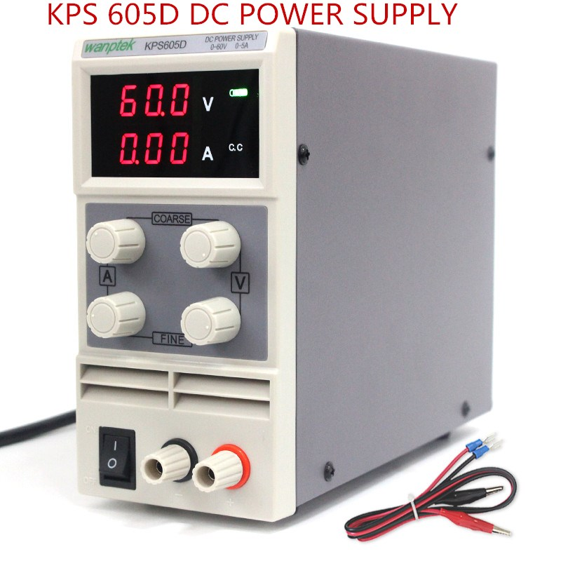 60V 5A Mini switching DC regulated power supply 0.1V 0.01A Single phase Laboratory Digital adjustable power supply KPS605D цена