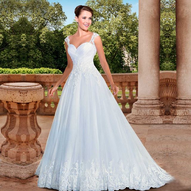vestido de novia 2016 Sexy Sweetheart Ball Gown Wedding Dresses ...