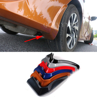 4pcs Lot Car Styling Mud Flaps Splash Guard Mudguard Mudflaps Fenders Perfector External Decoration For Honda