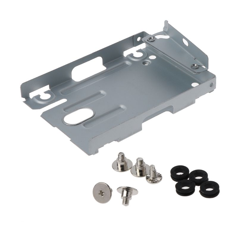 Hard Disk Drive HDD Base Tray Mounting Bracket Support for Playstation 3 PS3 Slim S 4000 With Screws|Harddisk & Boxs| |  - title=