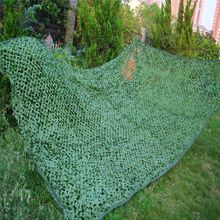 цена на Promotion!!!1x2M Outdoor Sports Camouflage Net Camo netting Hunting Military airsoft paintball concealment for hunting blind