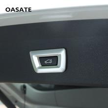 Топ Chrome Хвост дверь кнопку крышки отделочный стикер Подходит для BMW X1 F48 X3 F25 X4 F26 X5 F15 X6 3 серии F30 GT 7 5 серии Car Styling