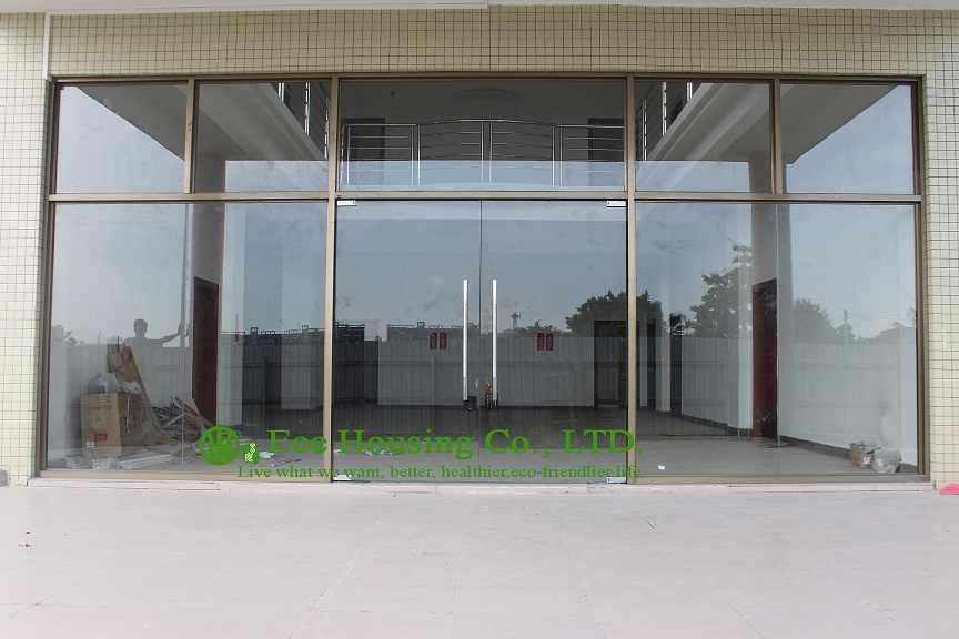 China manufacturer commercial exterior commercial frameless