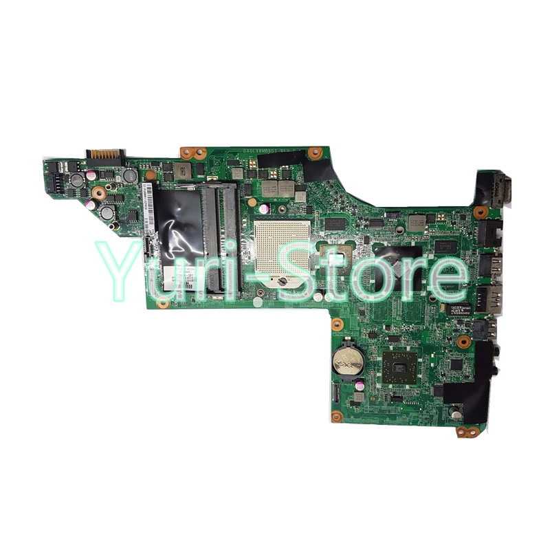 NOKOTION Free Shipping 615686-001 laptop motherboard for HP DV7 motherboard Graphics DDR3 RAM full Tested nokotion original 773370 601 773370 001 laptop motherboard for hp envy 17 j01 17 j hm87 840m 2gb graphics memory mainboard