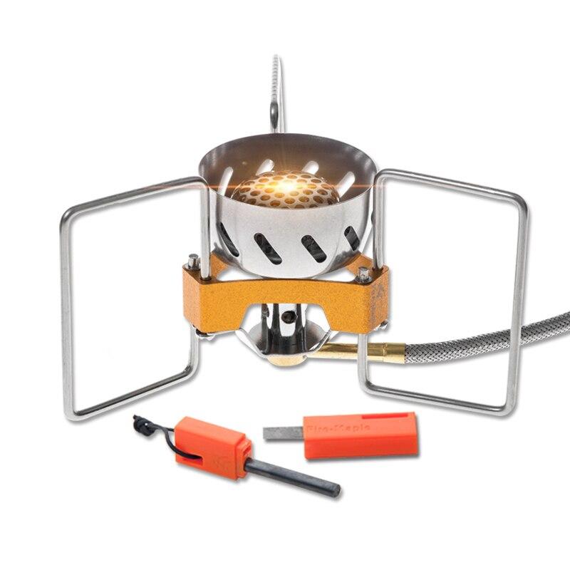 Feuer Ahorn flamme explosion split ofen besitzen die eigenschaften starke feuer power licht gewicht 2900 Watt winddicht bezeichnung FWS-02