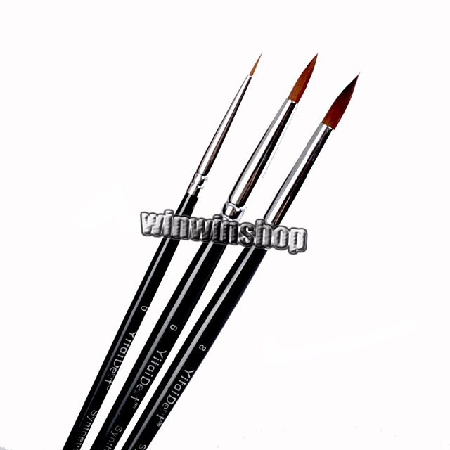 3pcs Dental Porcelain Brush Pen  6# 0# 8# Dental Lab Equipment BEST