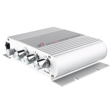 Livraison gratuite LP-838 Argent Mini HIFI 2.1/3 CH Basse Stéréo Audio Maison De Voiture MP3/4 Amplificateur de Puissance AMP 25 W * 2 + 45 W * 1 haute qualité