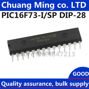 PIC16F73-I/SP PIC16F73 DIP-28 Single chip microcomputer chip In Stock