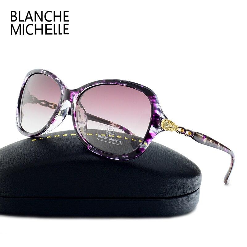 Blanche Michelle Luxury Butterfly Sunglasses Women Polarized UV400 Gradient Lens Sunglass Brand Designer Sun Glasses With Box 1