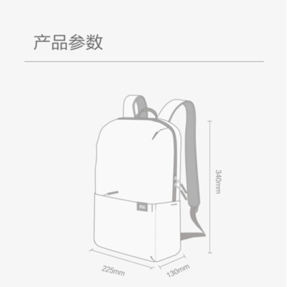 Original Xiaomi Mi Backpack 10L Bag Urban Leisure Sports Chest Pack Bags Men Women Small Size Shoulder Unisex Rucksack bolsa (22)