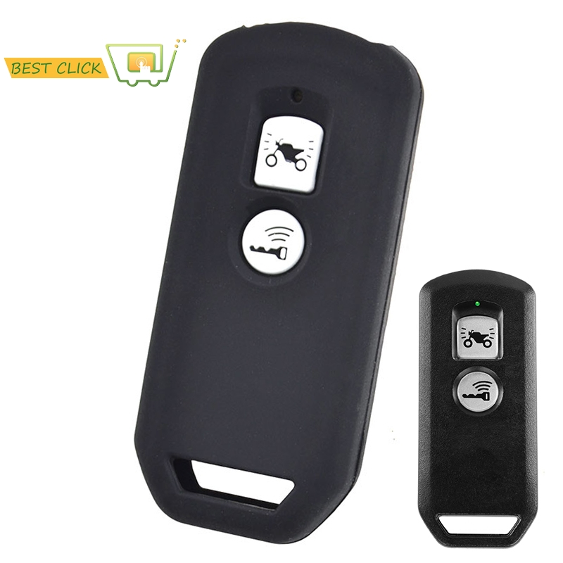 Silicone Key Case For Honda PCX 150 Hybrid X-ADV SH125 Scoopy SH300 Forza 125 300 2018 Motorcycle Scooter 2 Button Smart Key