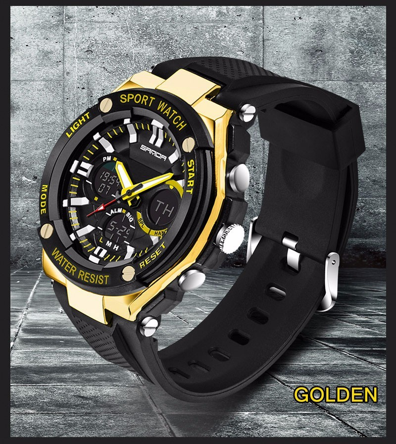 Men Sport Watch Waterproof Top Brand Luxury Military Watch LED Digital Quartz Wristwatch Relogio Masculino Reloj Hombre 2019 733 20