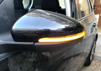for VW Golf MK6 GTI 6 R line Dynamic Blinker Side Mirror indicator For Volkswagen MKVI R20 LED Turn Signal Light 2009-2012