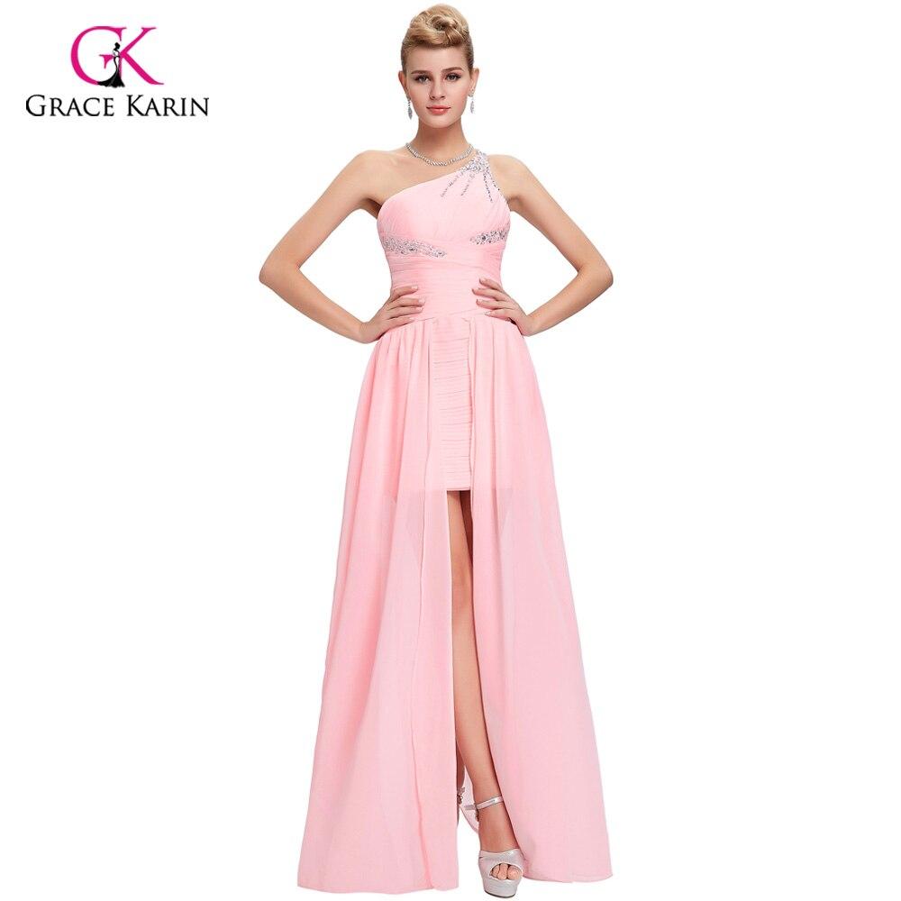 Princesa Grace Karin elegante trasero largo corto delantero Vestidos ...