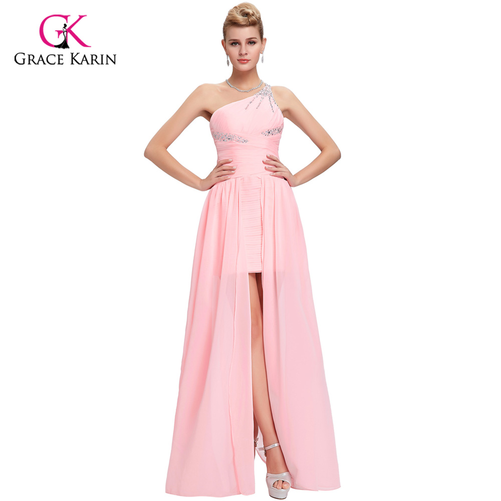 ᐂPrincess Grace Karin elegant Front short long Back Evening Dresses ...