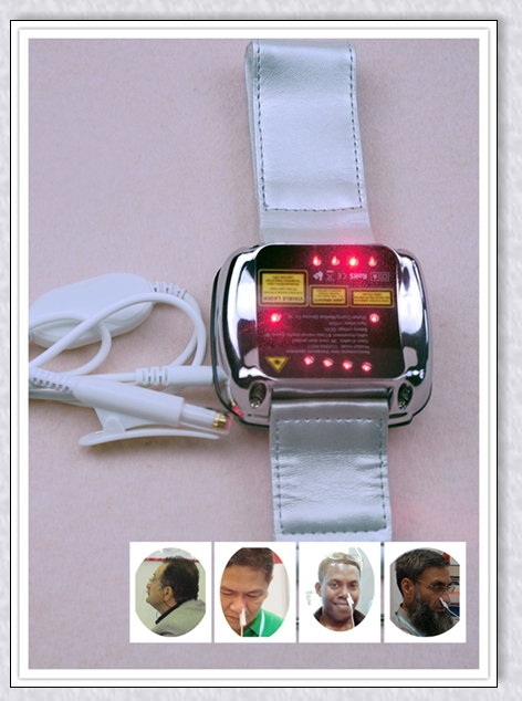 Home wrist type laser watch Low frequency high blood pressure high blood fat high blood sugar diabetes therapy