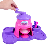 DIY ice cream machine girl pretend toys utensils toys simulation home appliance kitchen toys dollhouse toys kids gifts