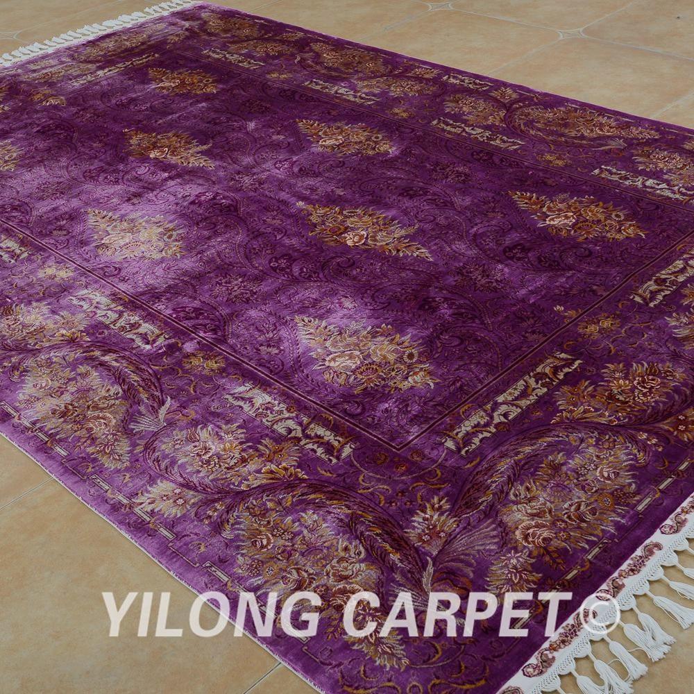 Yilong 6.56'x9.84 'Hereke alfombra galería morada vantage alfombra - Textiles para el hogar - foto 3